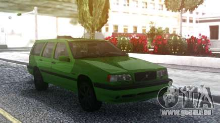 Volvo 850R 1997 Green pour GTA San Andreas