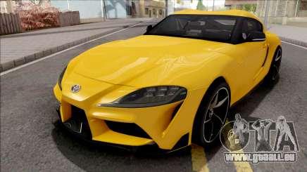 Toyota GR Supra 2019 pour GTA San Andreas
