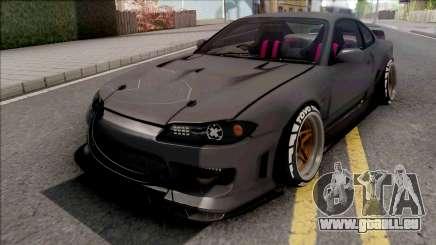 Nissan Silvia S15 Cyberpunk pour GTA San Andreas