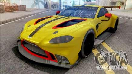 Aston Martin Vantage GTE 2018 für GTA San Andreas