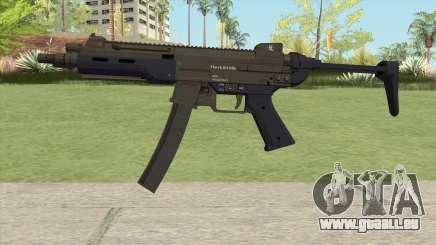 Hawk And Little SMG (With Flashlight V3) GTA V für GTA San Andreas