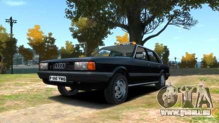 Audi 80 b2 (L.C. Taxi) pour GTA 4
