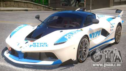 Ferrari FXX-K Police für GTA 4