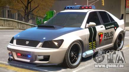 Sultan Indonesia Police V2 pour GTA 4