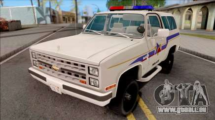 Chevrolet Blazer 1985 Hometown Police pour GTA San Andreas