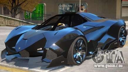 Lamborghini Egoista V2 für GTA 4