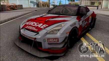 Nissan GT-R R35 Nismo R3 2018 pour GTA San Andreas
