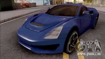 Saleen S1 2018 Blue pour GTA San Andreas