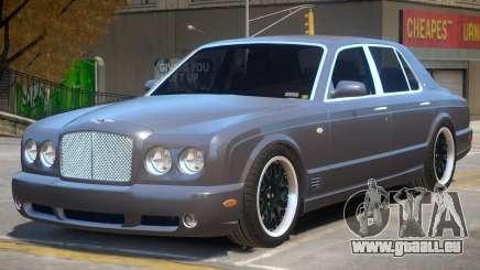 Bentley Arnage Custom V1 pour GTA 4