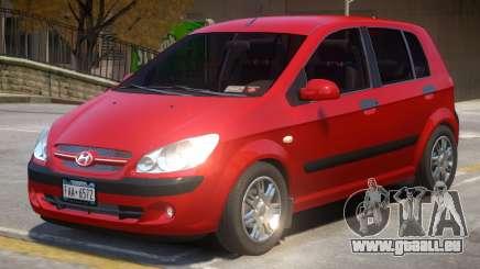Hyundai Getz V2 pour GTA 4