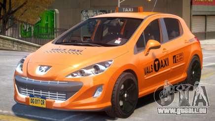 Peugeot 308 Taxi pour GTA 4