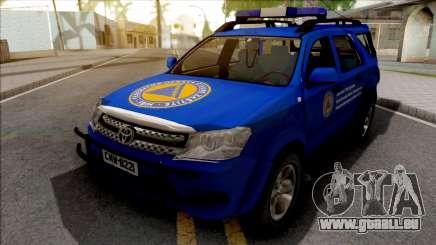 Toyota Fortuner Civilna Zastita für GTA San Andreas