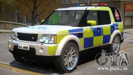 Land Rover Police pour GTA 4