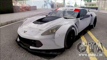 Chevrolet Corvette C7R 2014 Paint Job Preset 2 für GTA San Andreas