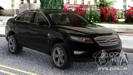 Ford Taurus SHO 2010 Black Original pour GTA San Andreas