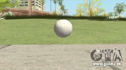 Snowball From GTA V für GTA San Andreas