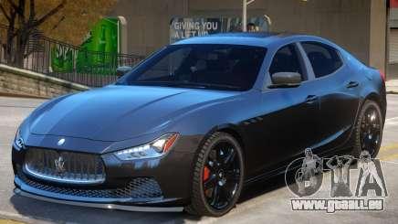 Maserati Ghibli V2 für GTA 4