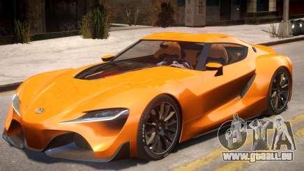 2014 Toyota FT-1 Supra Concept pour GTA 4