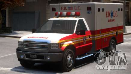 Vapid Sadler Ambulance V2 pour GTA 4