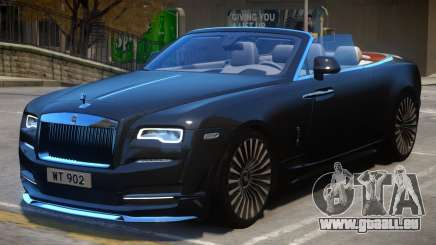 2016 Rolls Royce Dawn Onyx Concept pour GTA 4