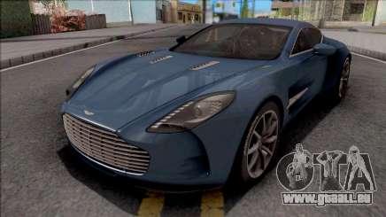Aston Martin One-77 2012 für GTA San Andreas