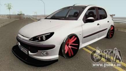 Peugeot 206 Full Sport für GTA San Andreas