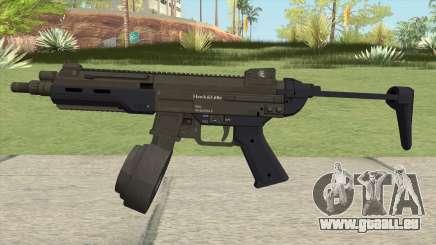 Hawk And Little SMG (With Flashlight V2) GTA V für GTA San Andreas