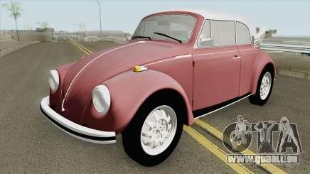 Volkswagen Fusca 75 (Conversivel) für GTA San Andreas