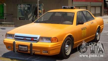 Vapid Stanier Taxi Classic für GTA 4