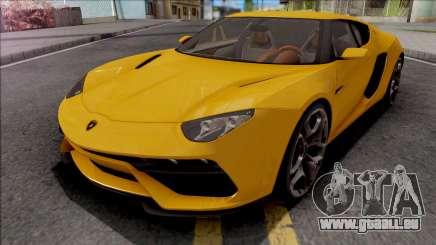 Lamborghini Asterion LPI 910-4 Concept 2015 für GTA San Andreas