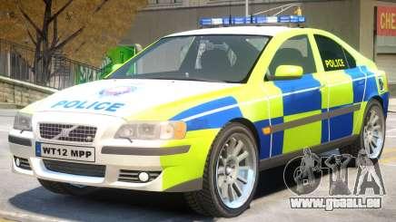 Volvo S60 Police pour GTA 4