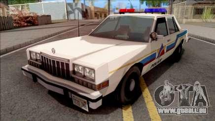 Dodge Diplomat 1989 Hometown Police für GTA San Andreas