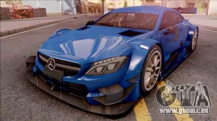 Mercedes-Benz C63 AMG 2017 Touring Car pour GTA San Andreas
