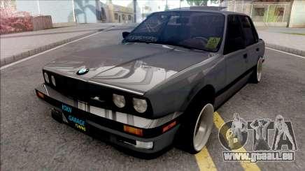 BMW 3-er E30 KSKN GARAGE für GTA San Andreas