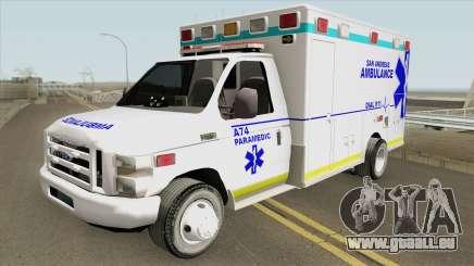 Ford E350 (San Andreas Ambulance) pour GTA San Andreas