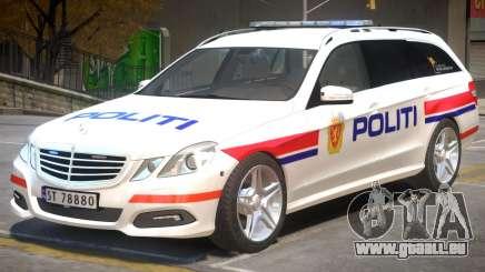 Mercedes Benz E63 Police pour GTA 4