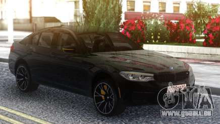 BMW M5 F90 Competition Black Series pour GTA San Andreas