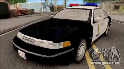 Ford Crown Victoria 1997 Hometown Police pour GTA San Andreas