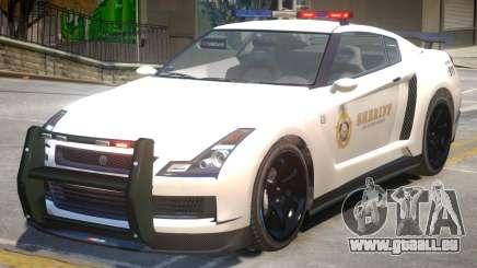 Annis Elegy RH8 Sheriff pour GTA 4