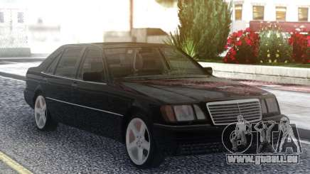 Mercedes-Benz S600 W140 Original Black für GTA San Andreas