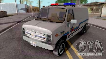 Chevrolet G20 1988 Hometown Police pour GTA San Andreas