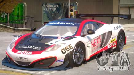 McLaren MP4 PJ3 pour GTA 4