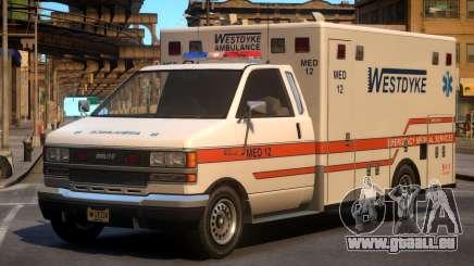 Ambulance Westdyke EMS pour GTA 4