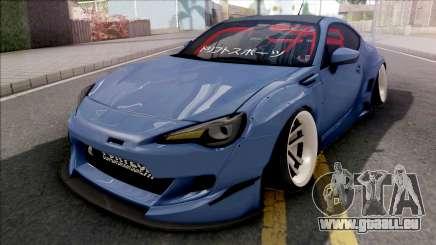 Subaru BRZ Blue pour GTA San Andreas