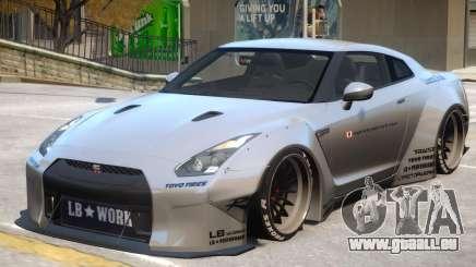 Nissan GT-R R35 pour GTA 4