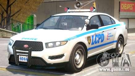 Vapid Interceptor Police V2 pour GTA 4