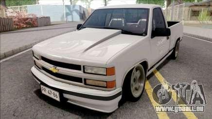 Chevrolet Silverado 1500 White für GTA San Andreas