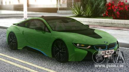 BMW I8 2018 Green pour GTA San Andreas