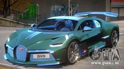 2019 Bugatti Divo für GTA 4