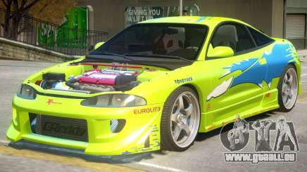 Mitsubishi Eclipse Furious pour GTA 4
